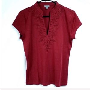 Ann Taylor Embroidered Top - NWOT
